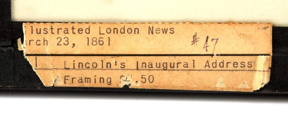 LONDON NEWS 1861 LINCOLN & GLACIER GIRL P38 PHOTO - 4