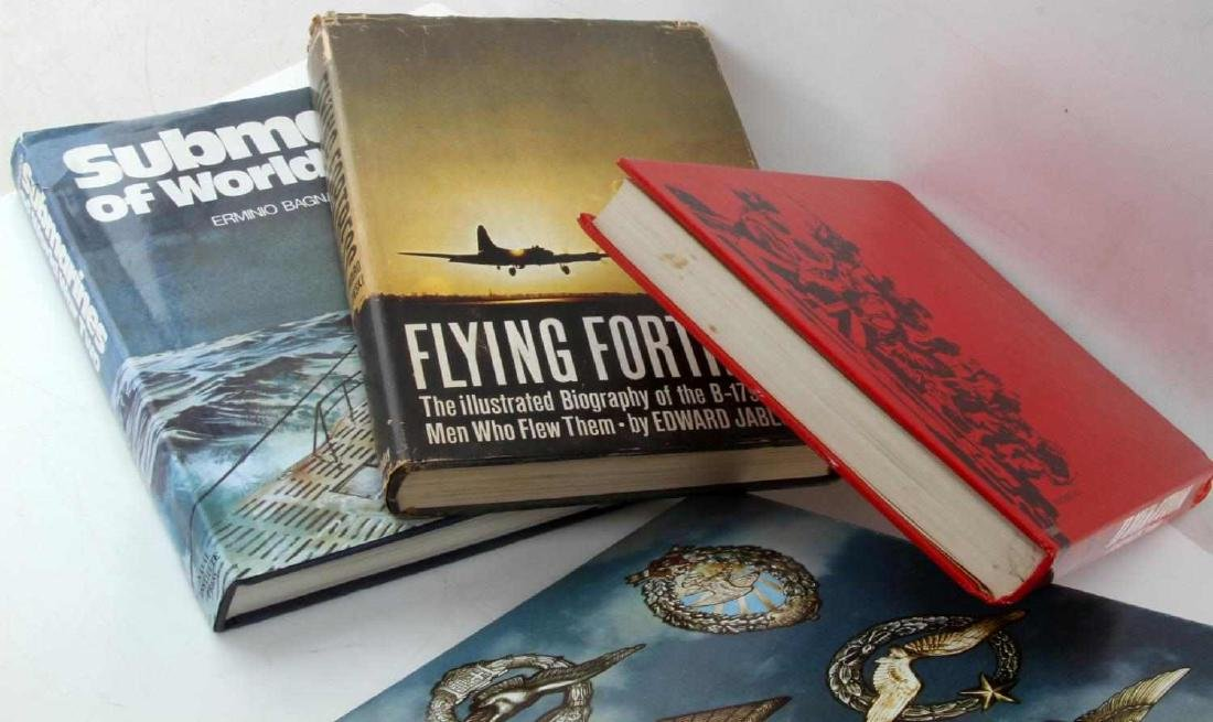 9 WWII MILITARY HISTORY BOOK LOT SUBMARINES USAAF - 3