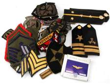 LOT OF MULTI CONFLICT MILITARY PATCHES & INSIGNIA