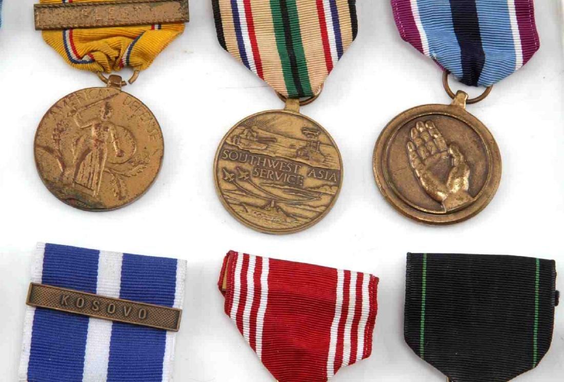 LOT OF MILITARY RIBBONS WWII VIETNAM TO PRESENT - 3