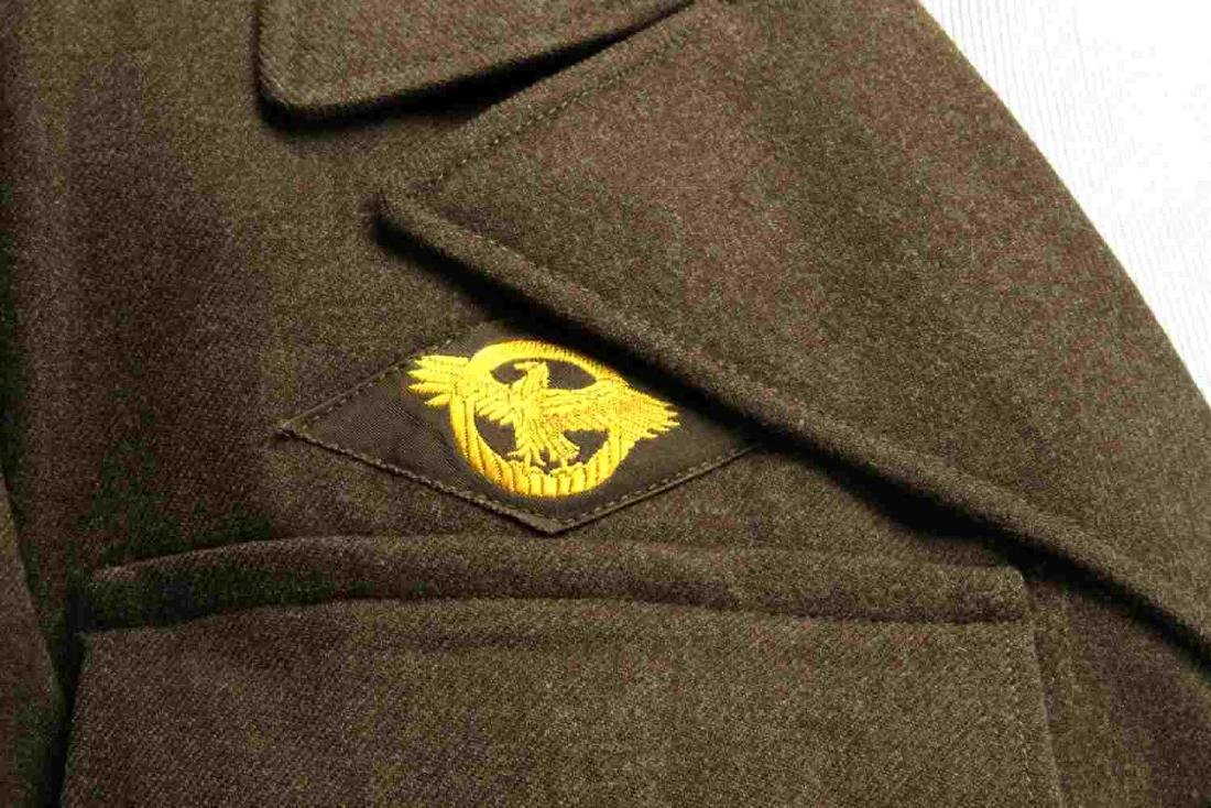 WWII US AMERICAN ARMY JACKET SIDE CAP & HAT LOT - 7