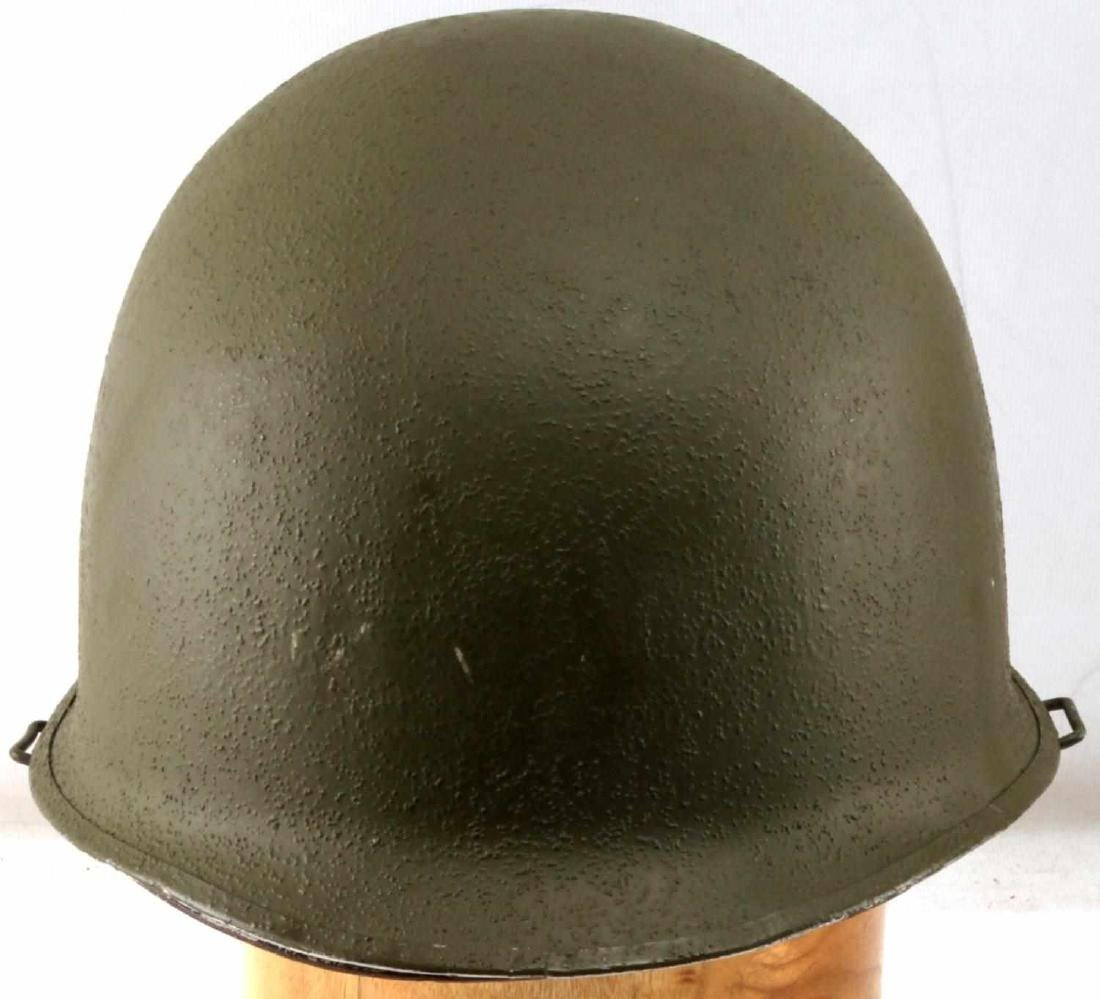 US WWII M1 SWIVEL BALE HELMET WITH ROTC LINER