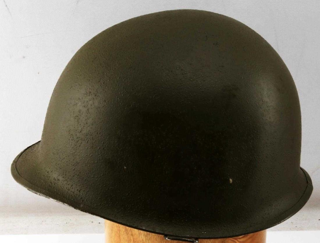 US WWII M1 SWIVEL BALE HELMET WITH ROTC LINER - 2