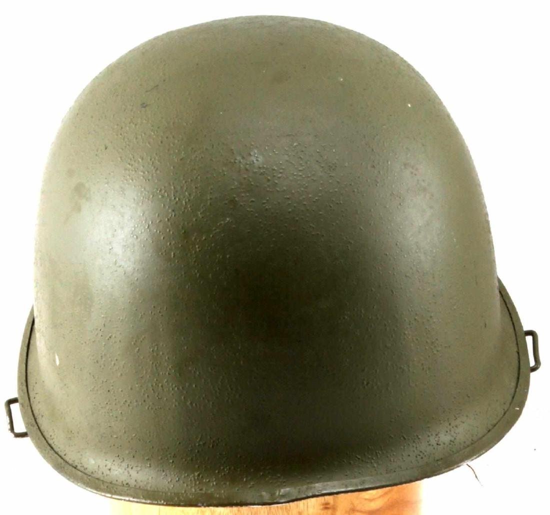 US WWII M1 SWIVEL BALE HELMET WITH ROTC LINER - 3