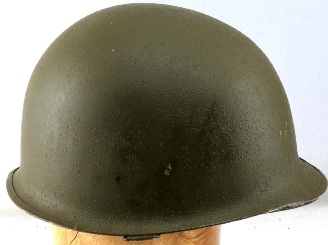 US WWII M1 SWIVEL BALE HELMET WITH ROTC LINER - 4