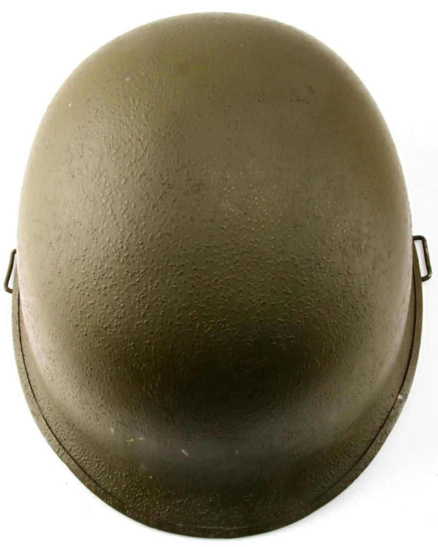 US WWII M1 SWIVEL BALE HELMET WITH ROTC LINER - 6