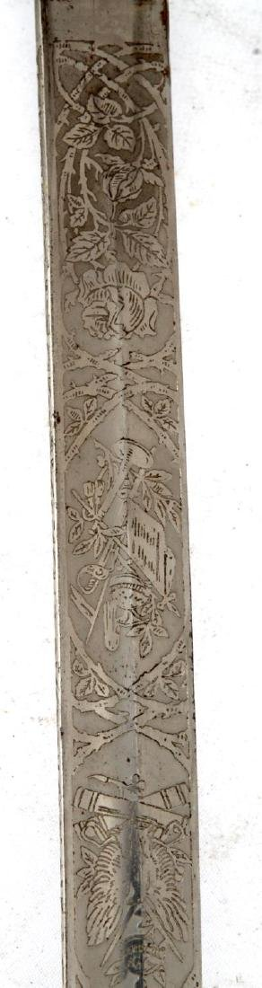 WWI IMPERIAL GERMAN NCO DRESS PRESENTATION SWORD - 5
