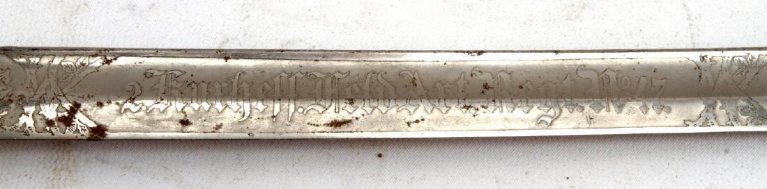 WWI IMPERIAL GERMAN NCO DRESS PRESENTATION SWORD - 6