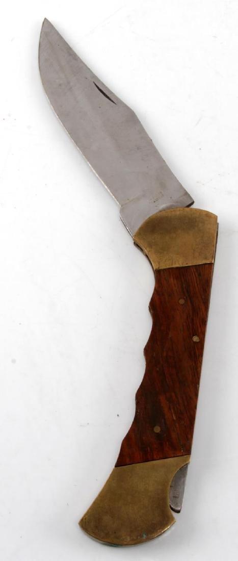 LARGE POCKET KNIFE LOT OF 20 BIG VARIETY - 4