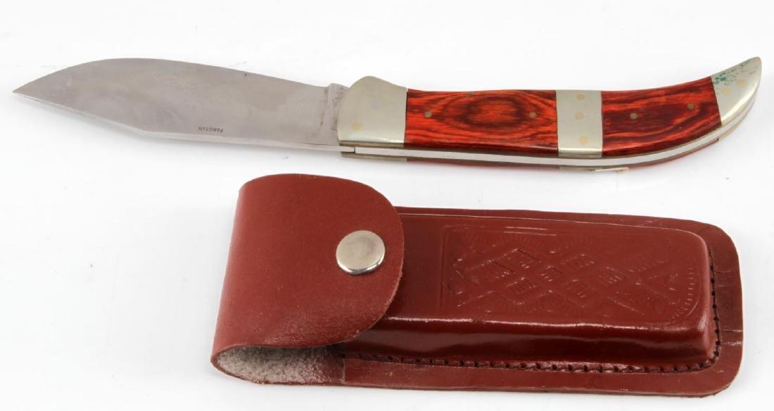 LARGE POCKET KNIFE LOT OF 20 BIG VARIETY - 5