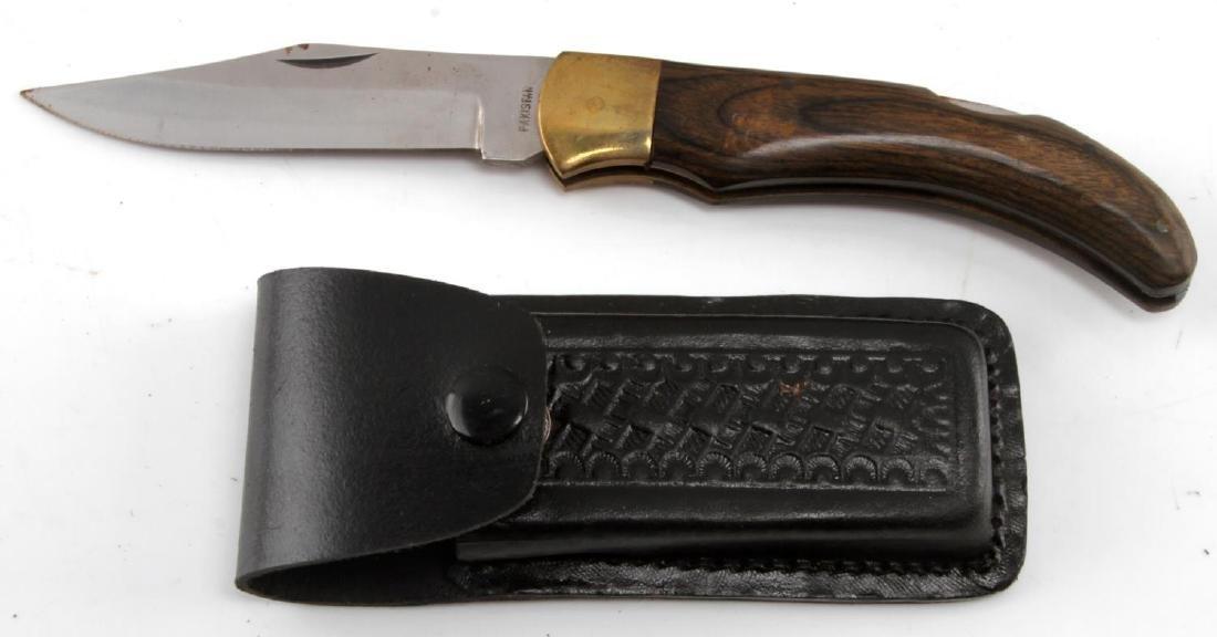 LARGE POCKET KNIFE LOT OF 20 BIG VARIETY - 7