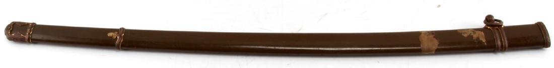 WWII JAPANESE SWORD OLIVE NCO SCABBARD SAYA