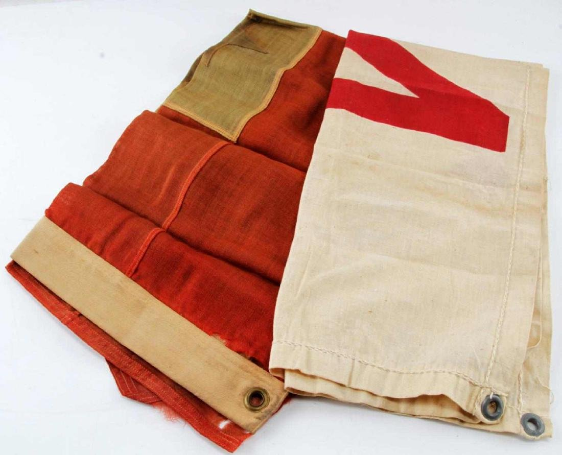 WWI US MILITARY SON IN SERVICE FLAGS - 2