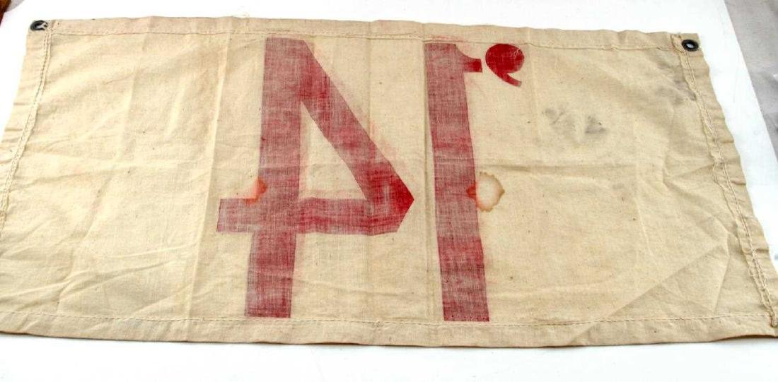 WWI US MILITARY SON IN SERVICE FLAGS - 4