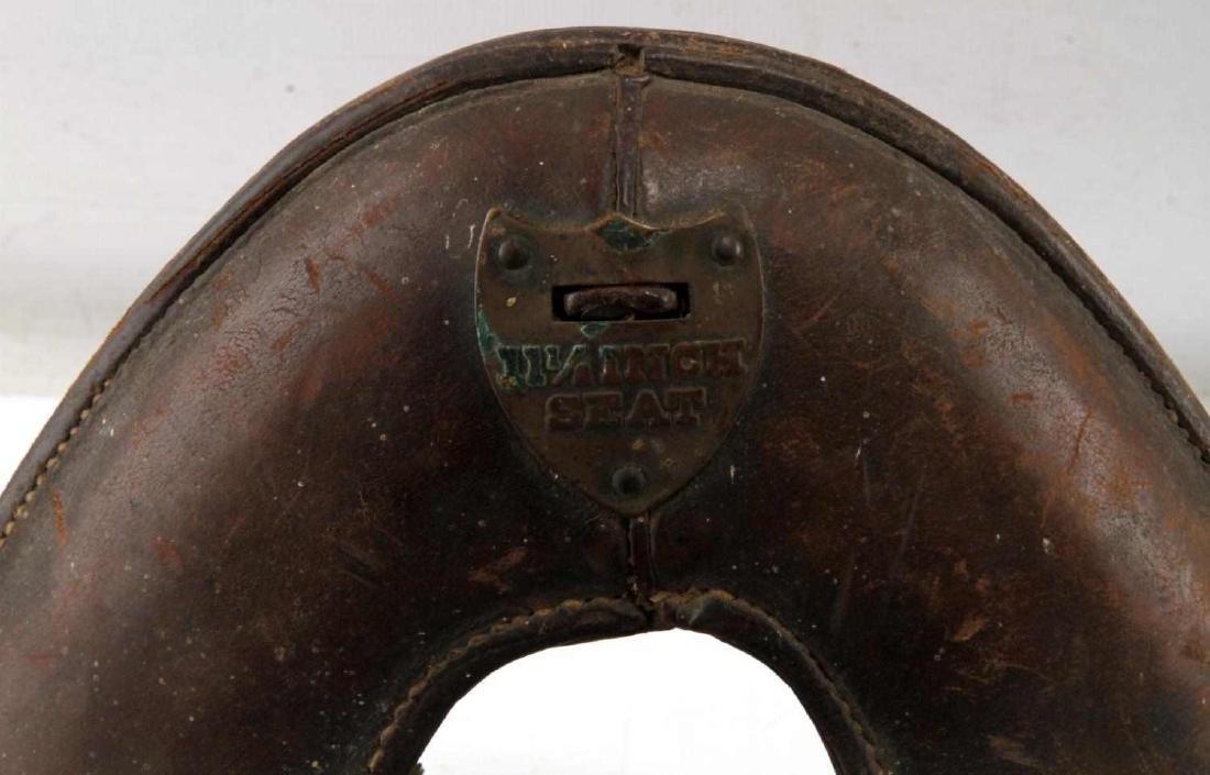 2 WWI MCCLELLAN SADDLES 1904 11 & 11 1/2 INCH - 4