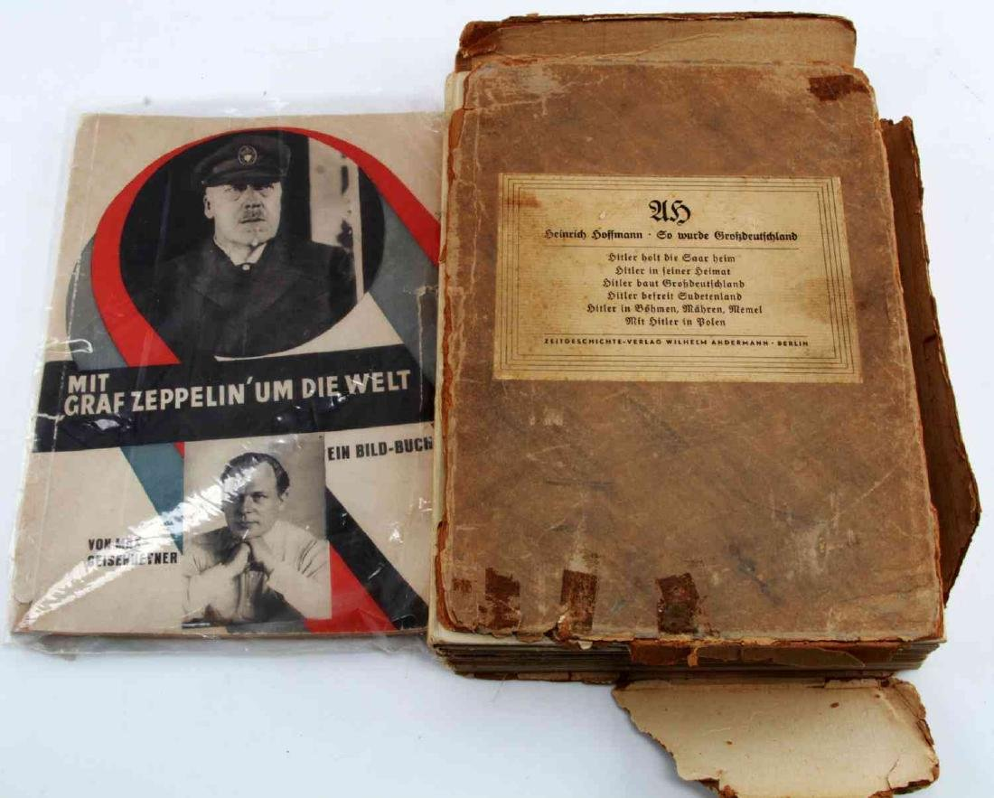 WWII GERMAN THIRD REICH HOFFMANN BOOK LOT