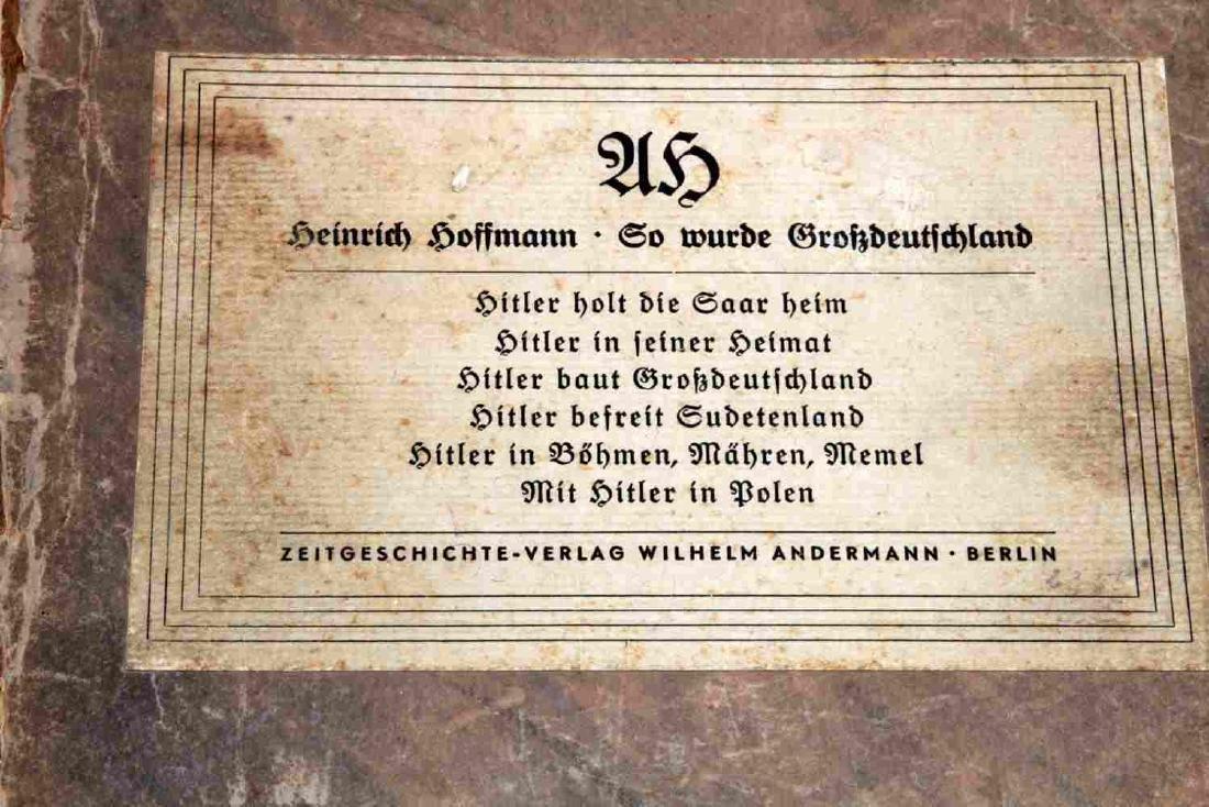 WWII GERMAN THIRD REICH HOFFMANN BOOK LOT - 2