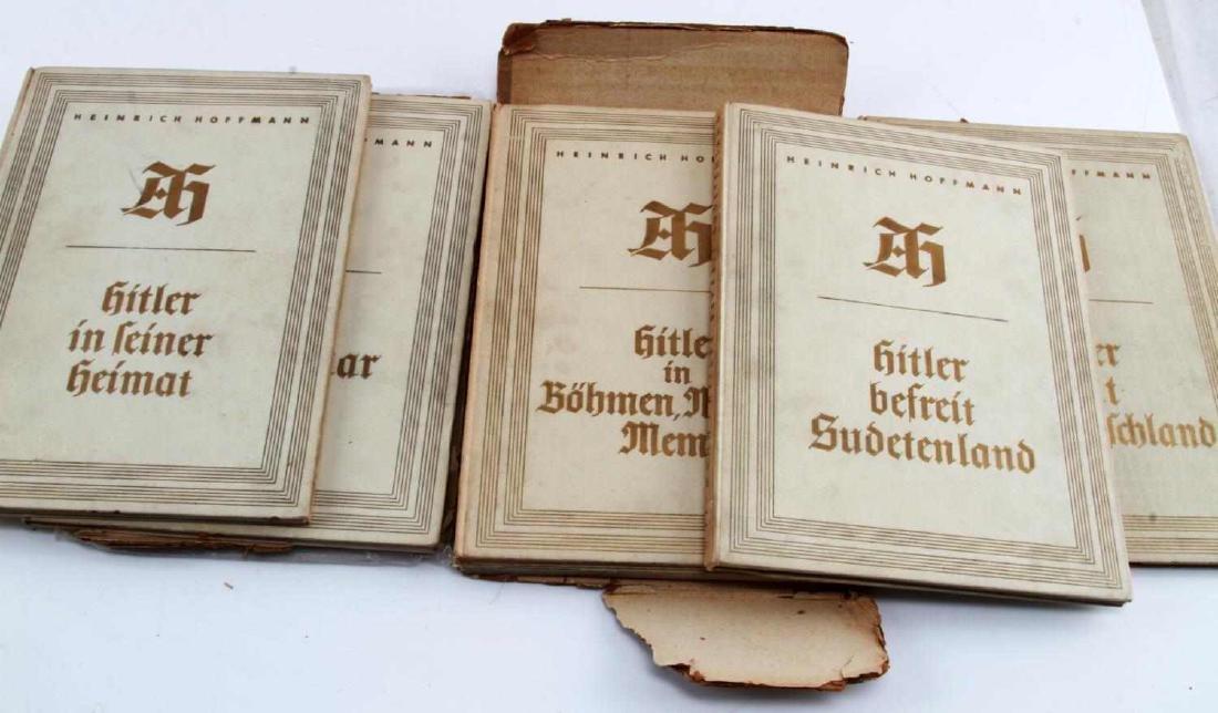 WWII GERMAN THIRD REICH HOFFMANN BOOK LOT - 4