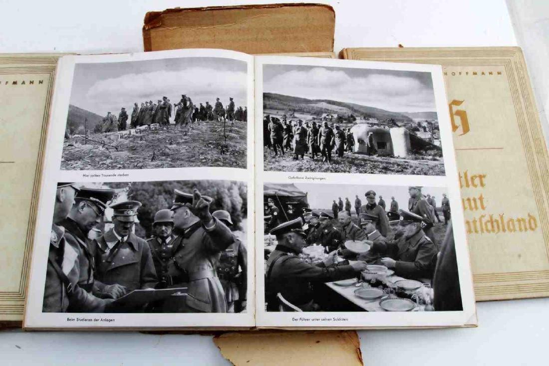 WWII GERMAN THIRD REICH HOFFMANN BOOK LOT - 5