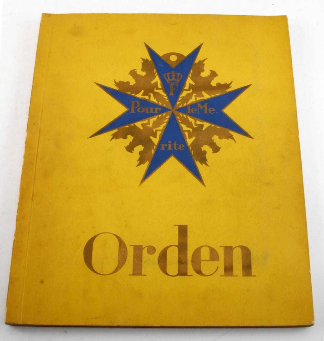 WWII THIRD REICH GERMAN ORDEN BOOK PAPERBACK - 4