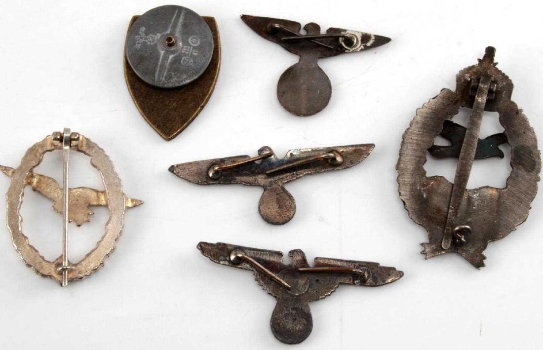 WWI IMPERIAL GERMAN WWII 3RD REICH BADGE LOT - 2