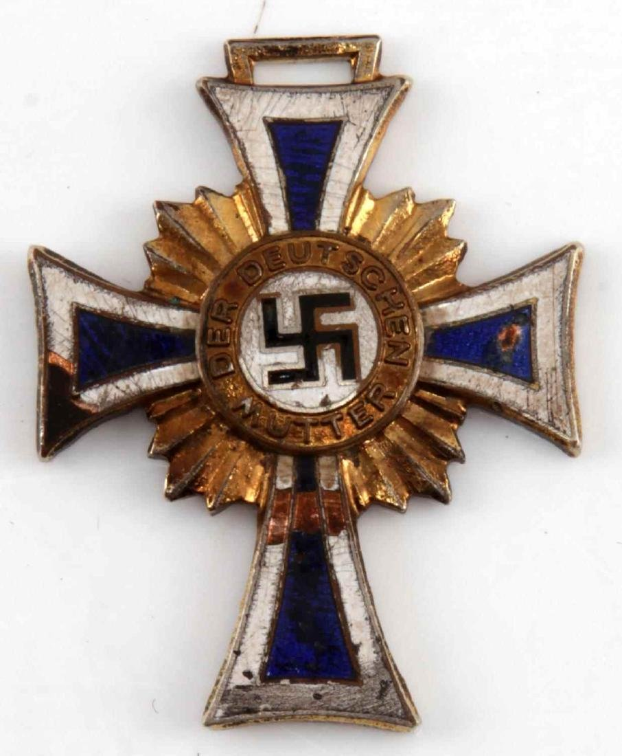 GERMAN WWII THIRD REICH MOTHERS CROSS IN SILVER