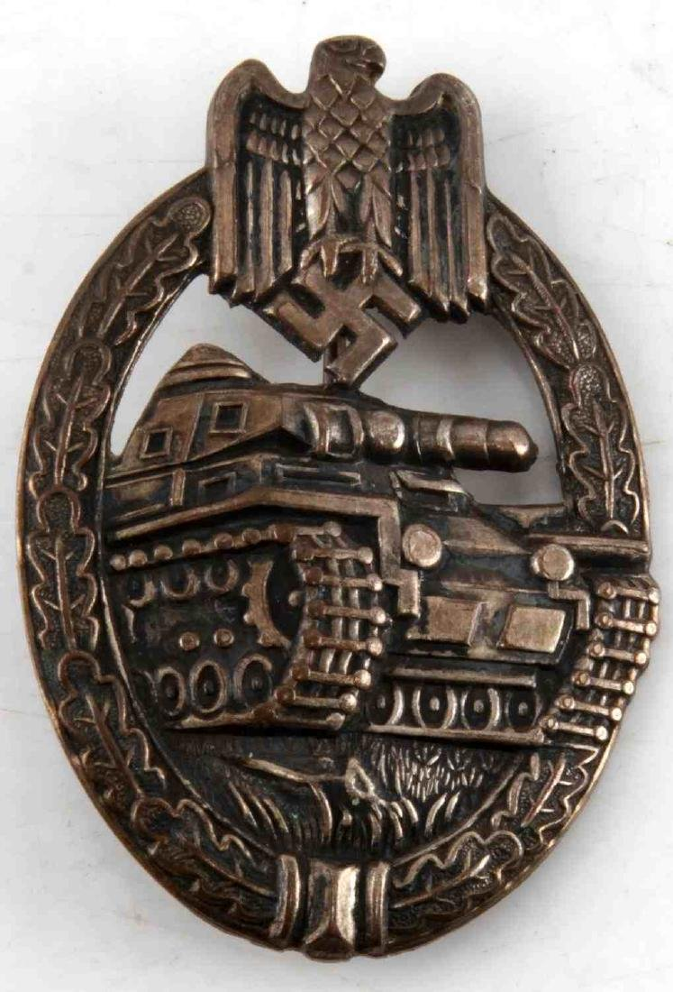 WWII GERMAN THIRD REICH PANZER ASSAULT BADGE
