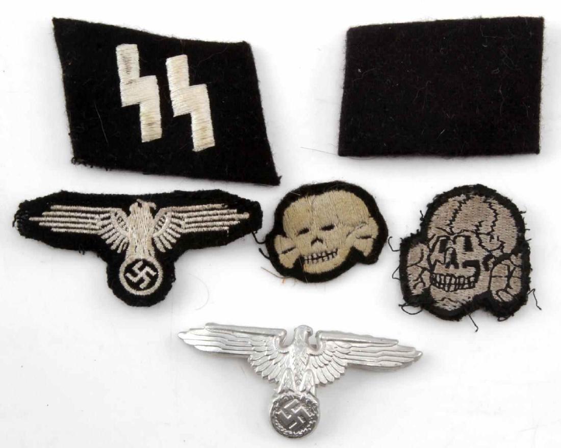 WWII THIRD REICH LOT OF WAFFEN SS EM INSIGNIA
