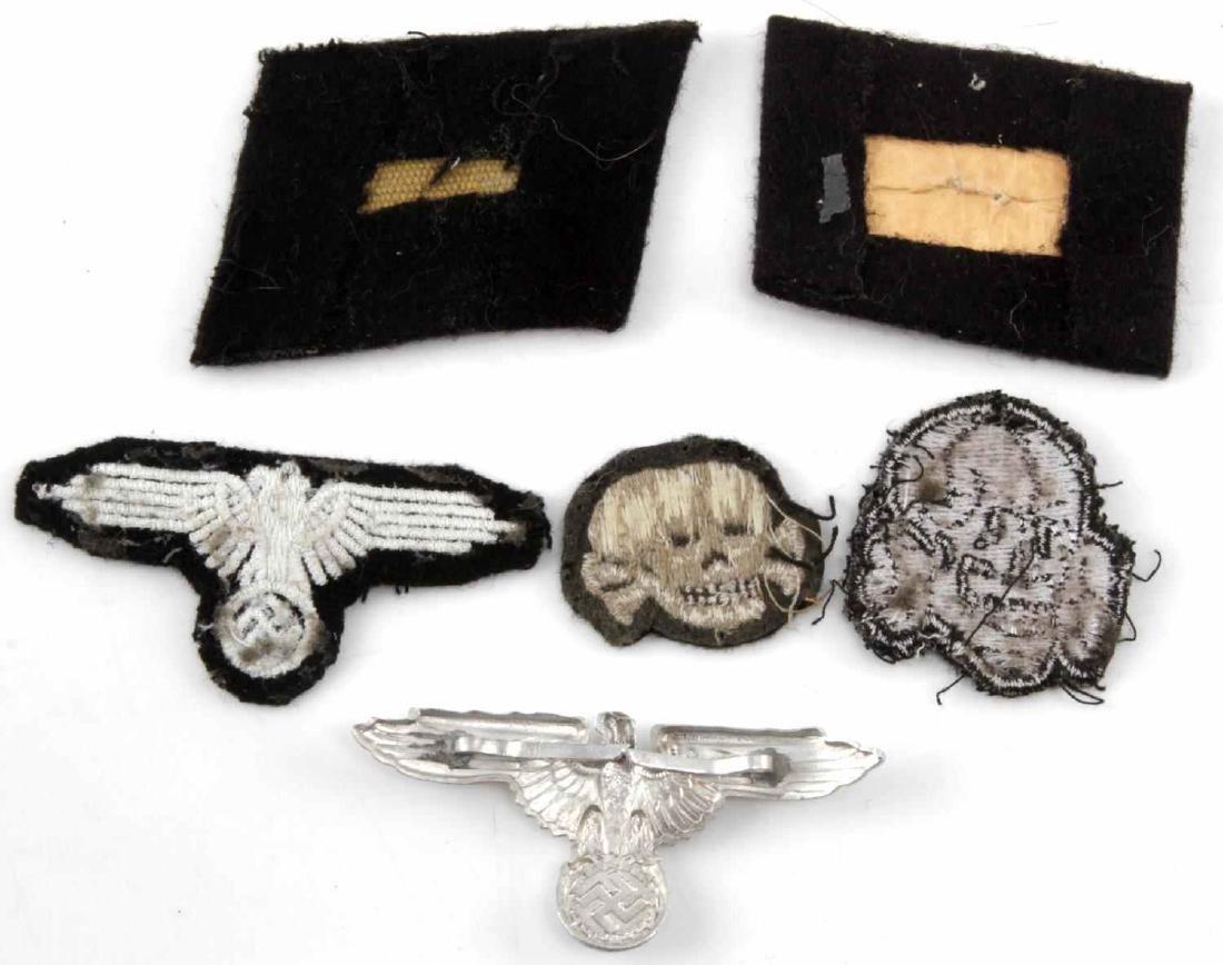 WWII THIRD REICH LOT OF WAFFEN SS EM INSIGNIA - 2