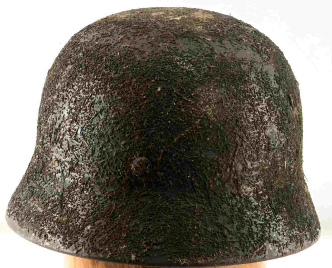 WWII GERMAN THIRD REICH M1940 COMBAT HELMET - 3
