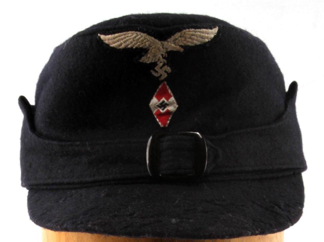WWII GERMAN THIRD REICH HITLER YOUTH M-43 CAP