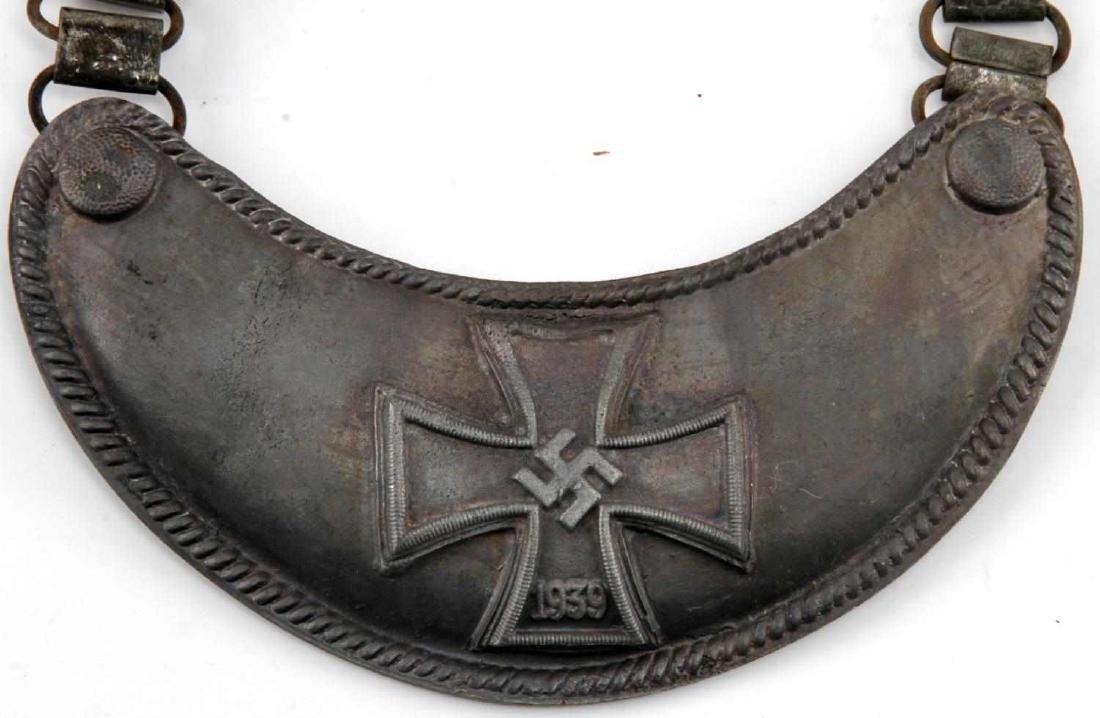WWII GERMAN THIRD REICH 1939 IRON CROSS GORGET - 2