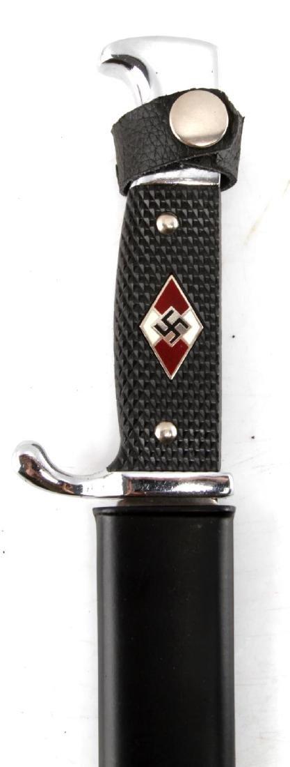 WWII GERMAN THIRD REICH SS DAGGER & YOUTH DAGGER - 5