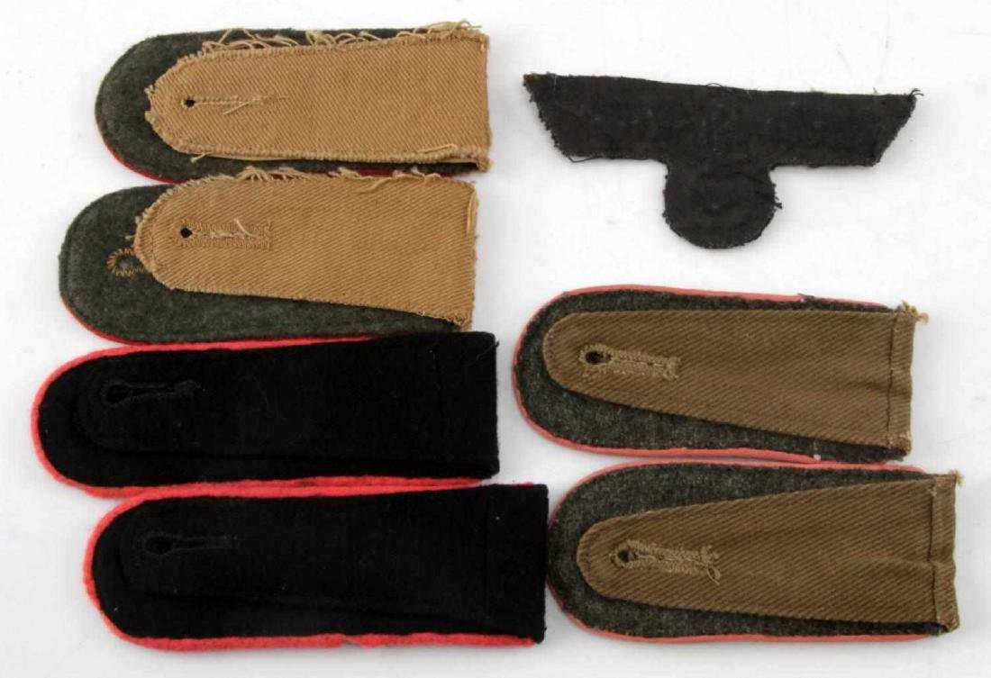 WWII THIRD REICH LOT OF SS & ARMY SHOULDER STRAPS - 2