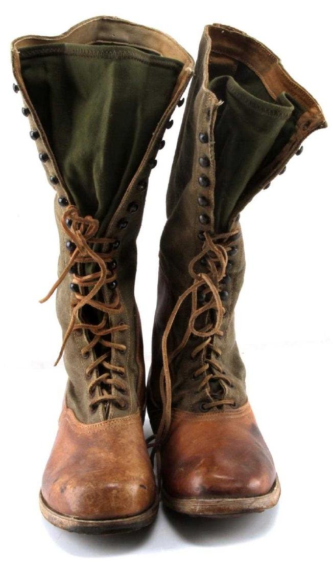WWII THIRD REICH AFRIKA KORP TROPICAL COMBAT BOOTS