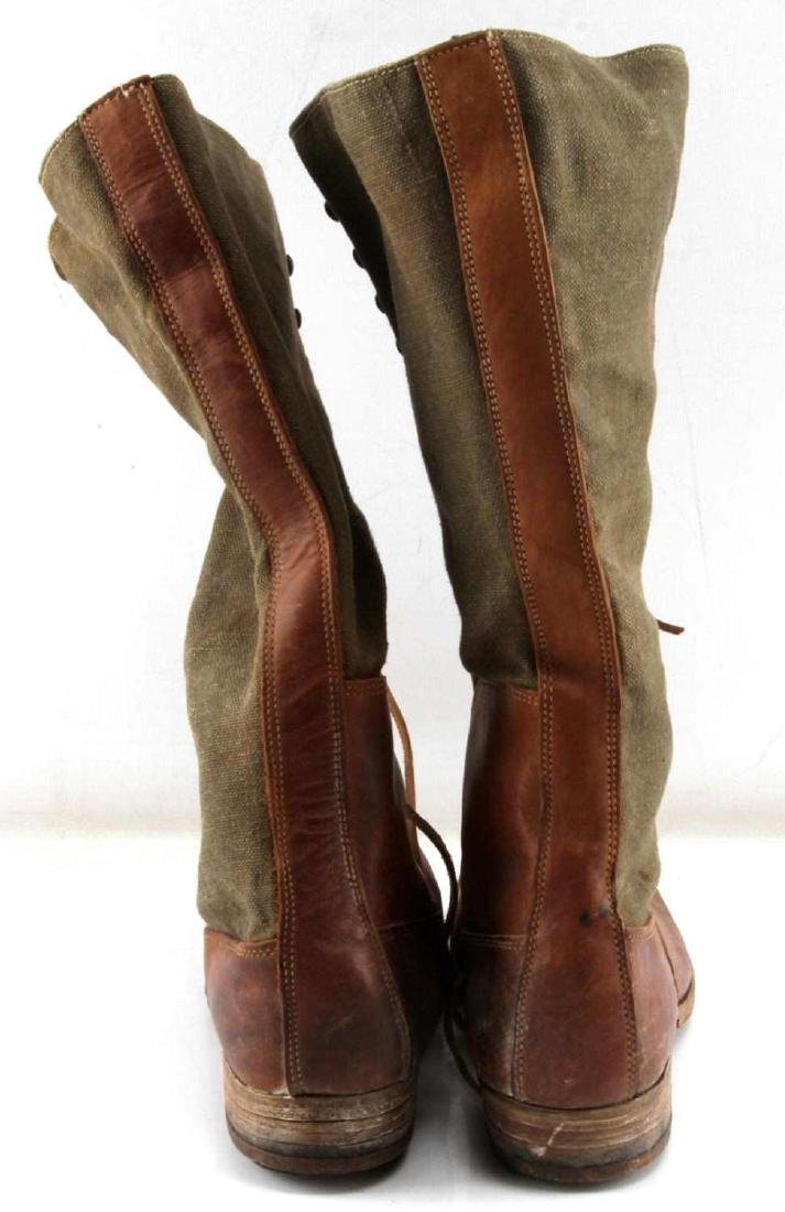 WWII THIRD REICH AFRIKA KORP TROPICAL COMBAT BOOTS - 4
