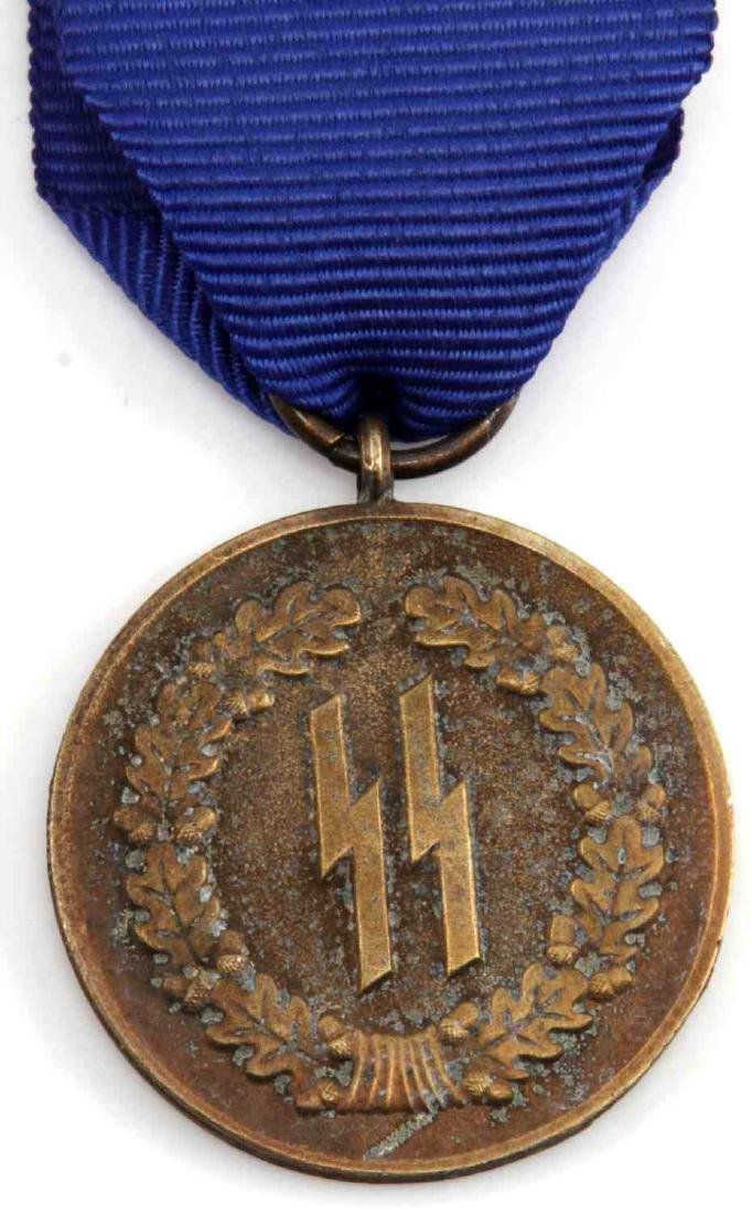 WWII GERMAN THIRD REICH SS LONG SERVICE MEDAL - 2