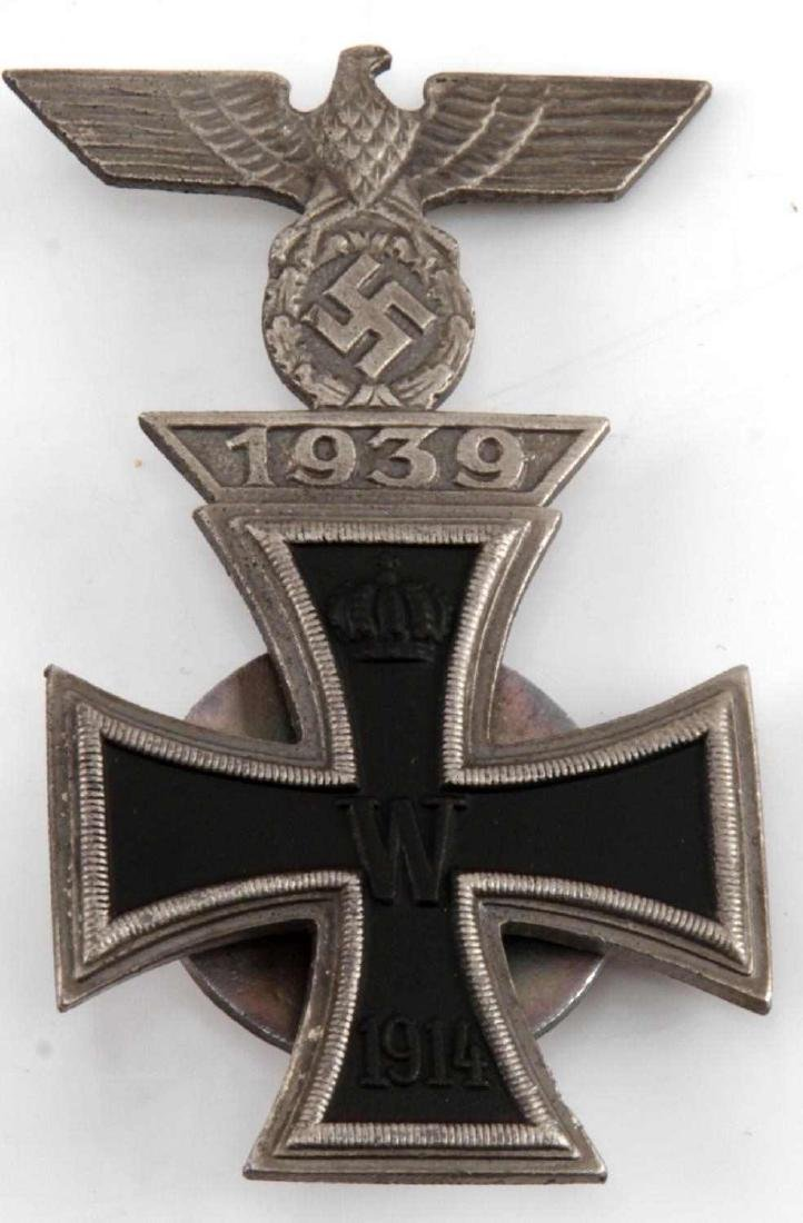 IMPERIAL GERMAN WWI IRON CROSS WITH 1939 SPANGE