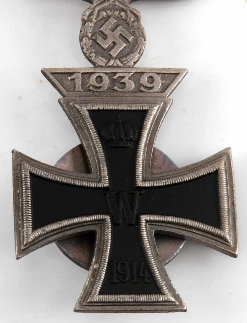 IMPERIAL GERMAN WWI IRON CROSS WITH 1939 SPANGE - 2