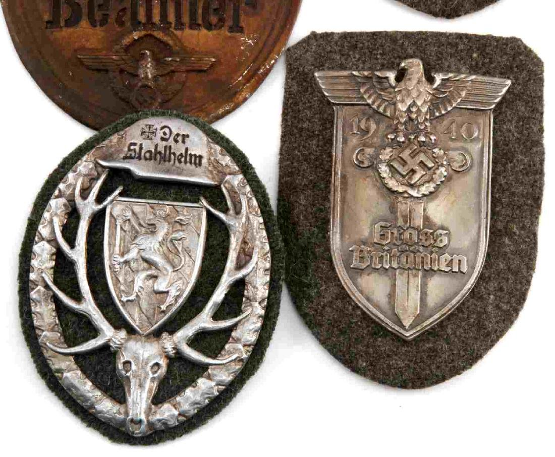 WWII GERMAN THIRD REICH LOT OF 4 PLAQUES - 2