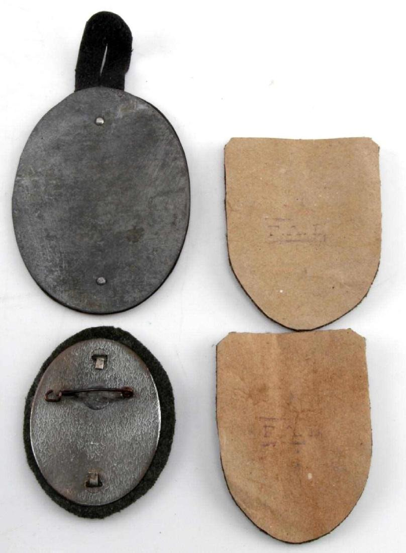 WWII GERMAN THIRD REICH LOT OF 4 PLAQUES - 3