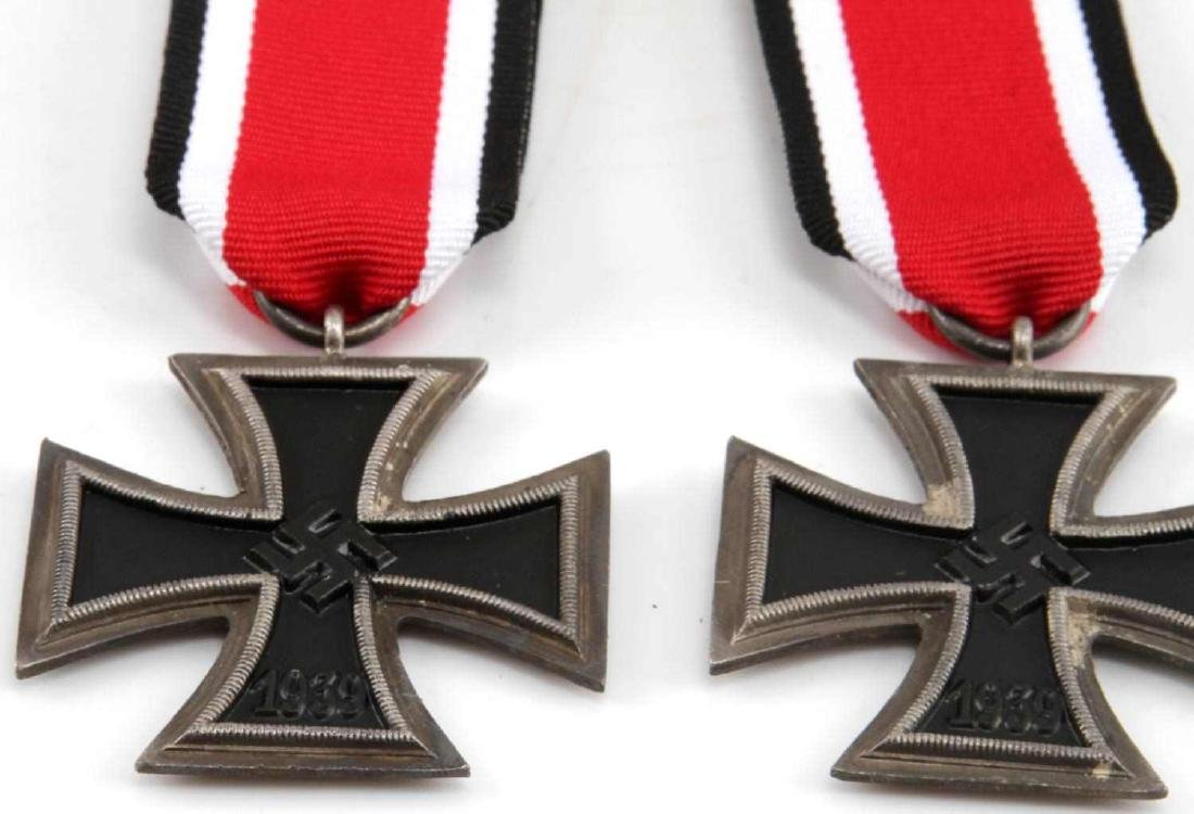 WWII GERMAN THIRD REICH IRON CROSS LOT OF TWO