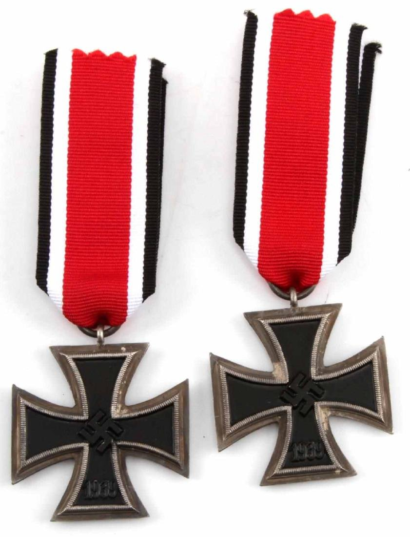 WWII GERMAN THIRD REICH IRON CROSS LOT OF TWO - 2