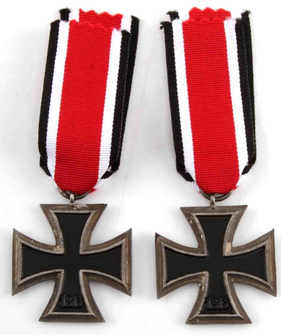 WWII GERMAN THIRD REICH IRON CROSS LOT OF TWO - 3