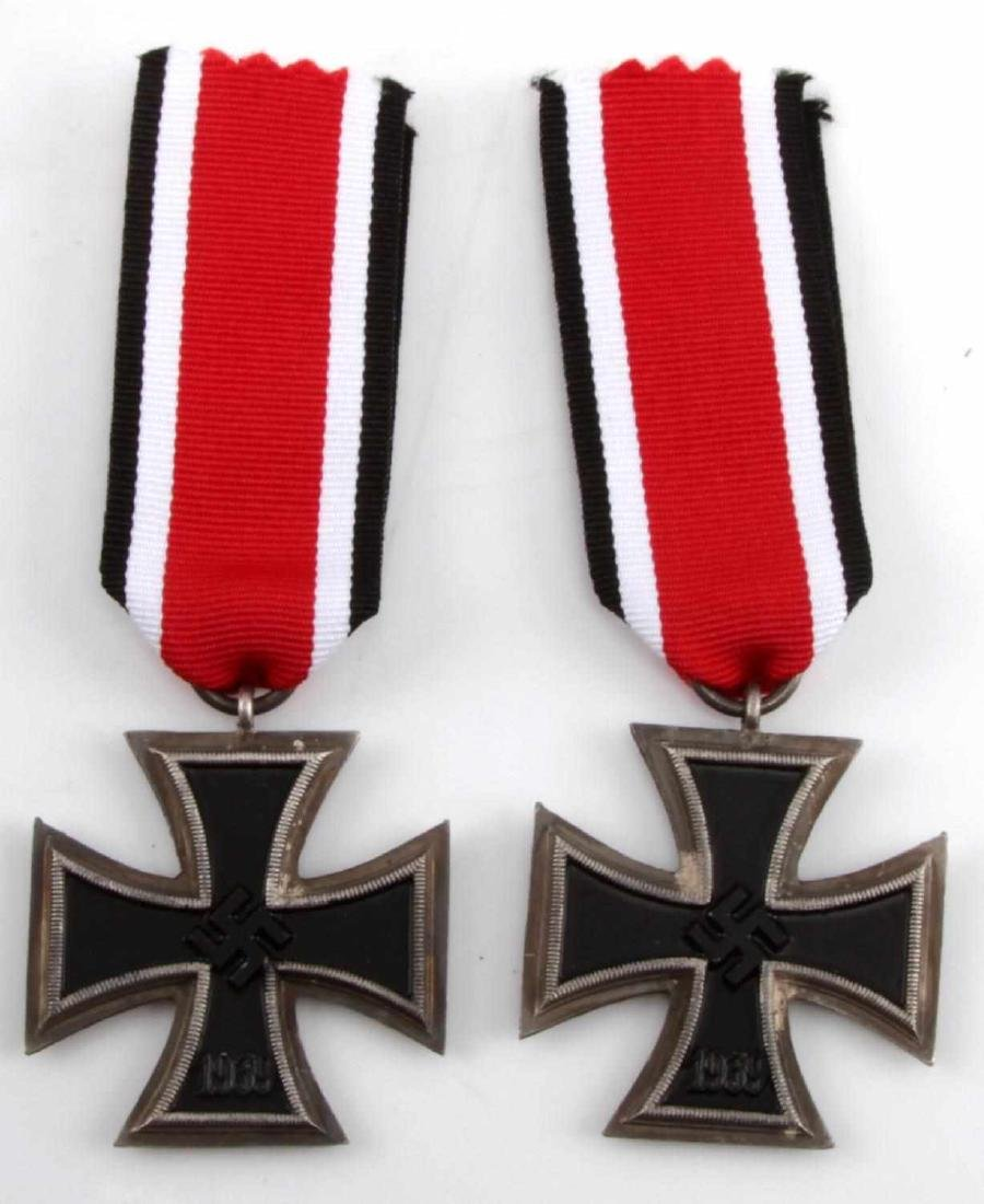 WWII GERMAN THIRD REICH IRON CROSS LOT OF TWO - 5