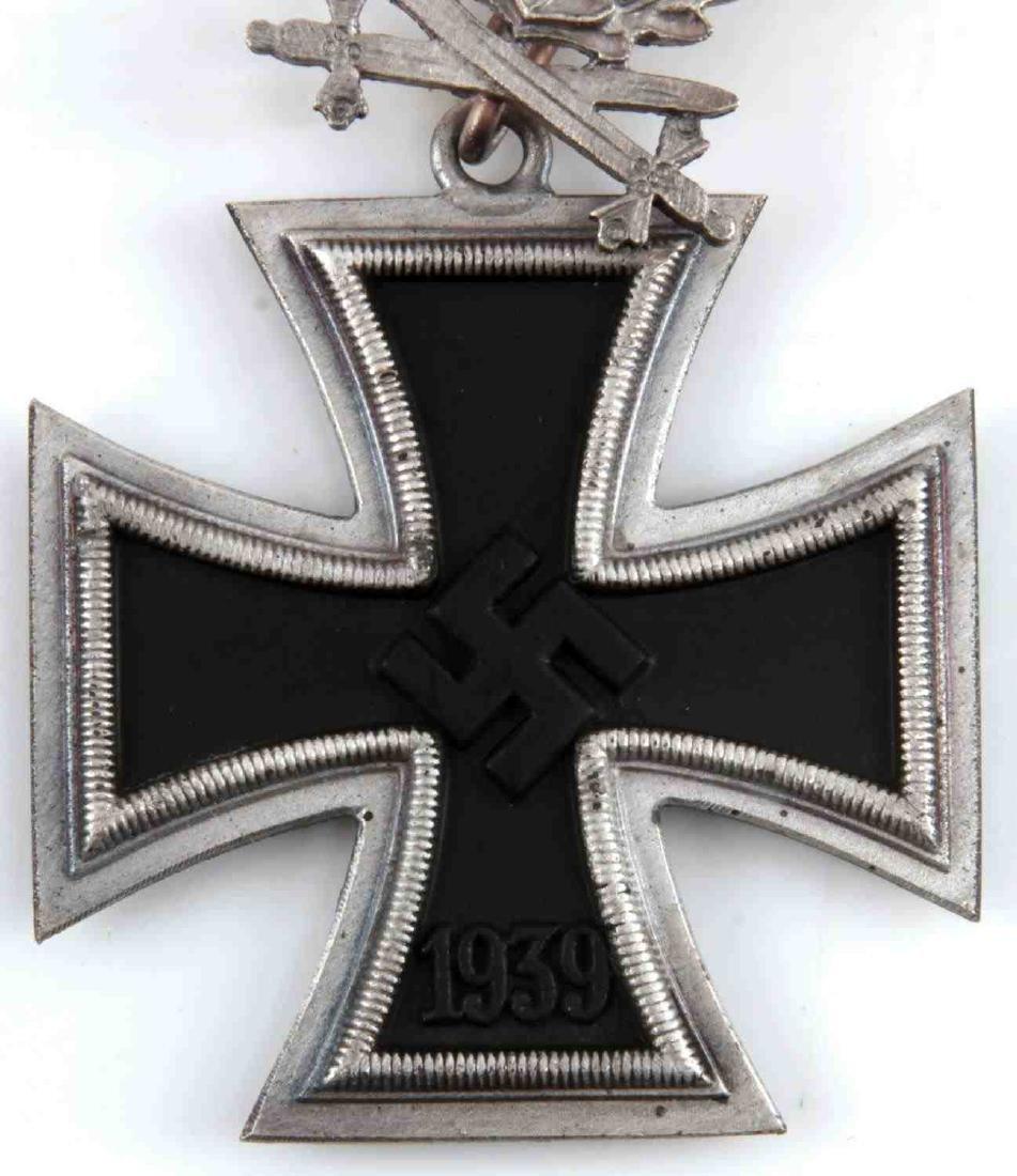 WWII GERMAN 3RD REICH IRON CROSS OAK LEAVES SWORDS - 2
