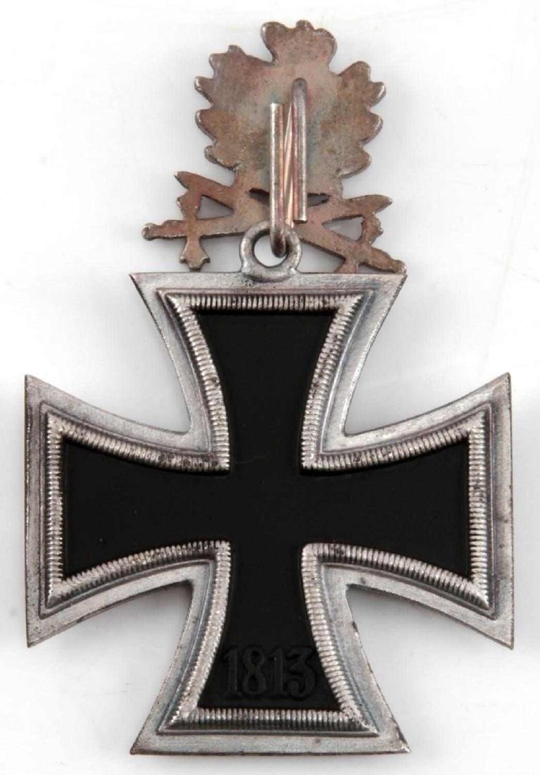 WWII GERMAN 3RD REICH IRON CROSS OAK LEAVES SWORDS - 3