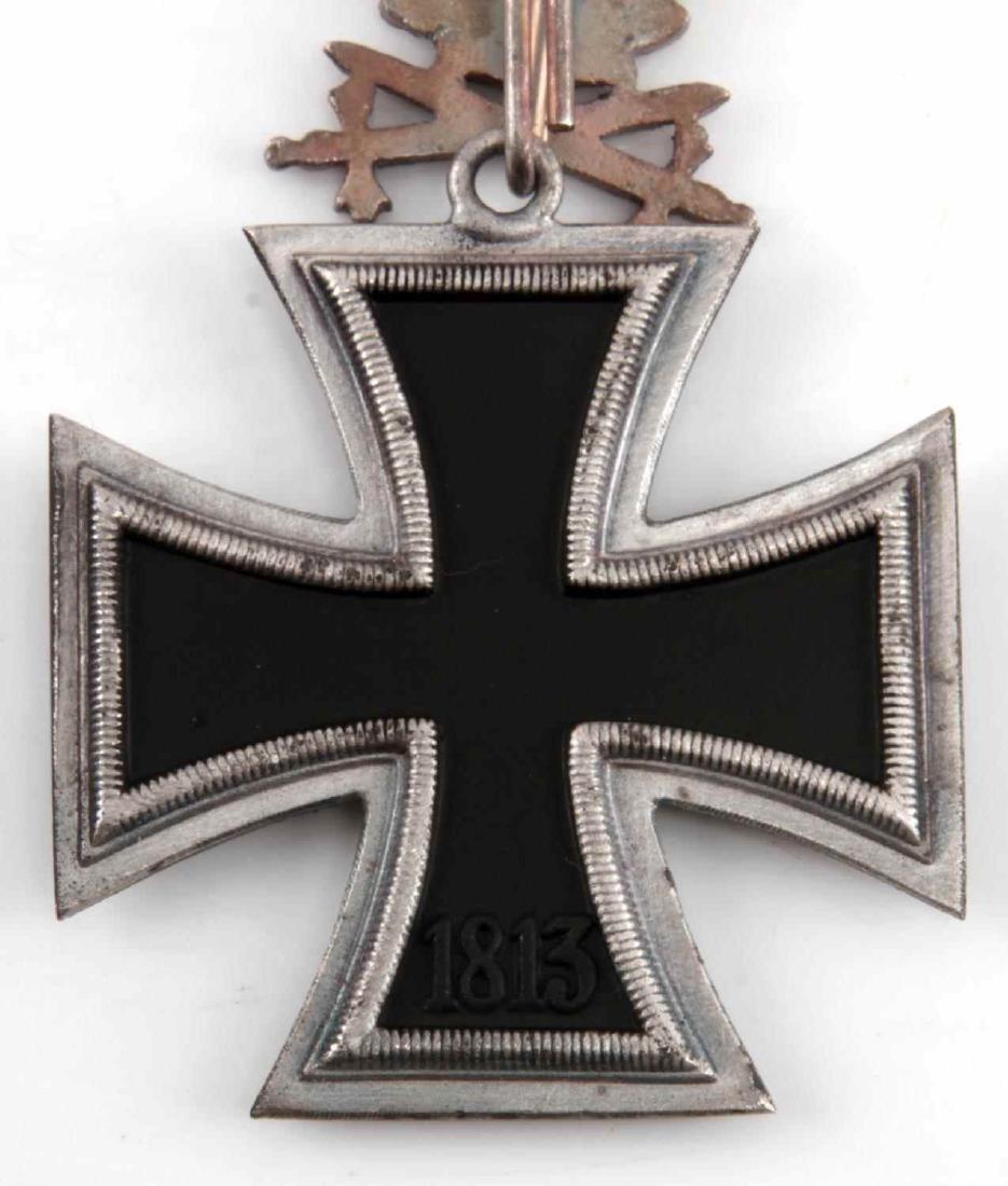 WWII GERMAN 3RD REICH IRON CROSS OAK LEAVES SWORDS - 4
