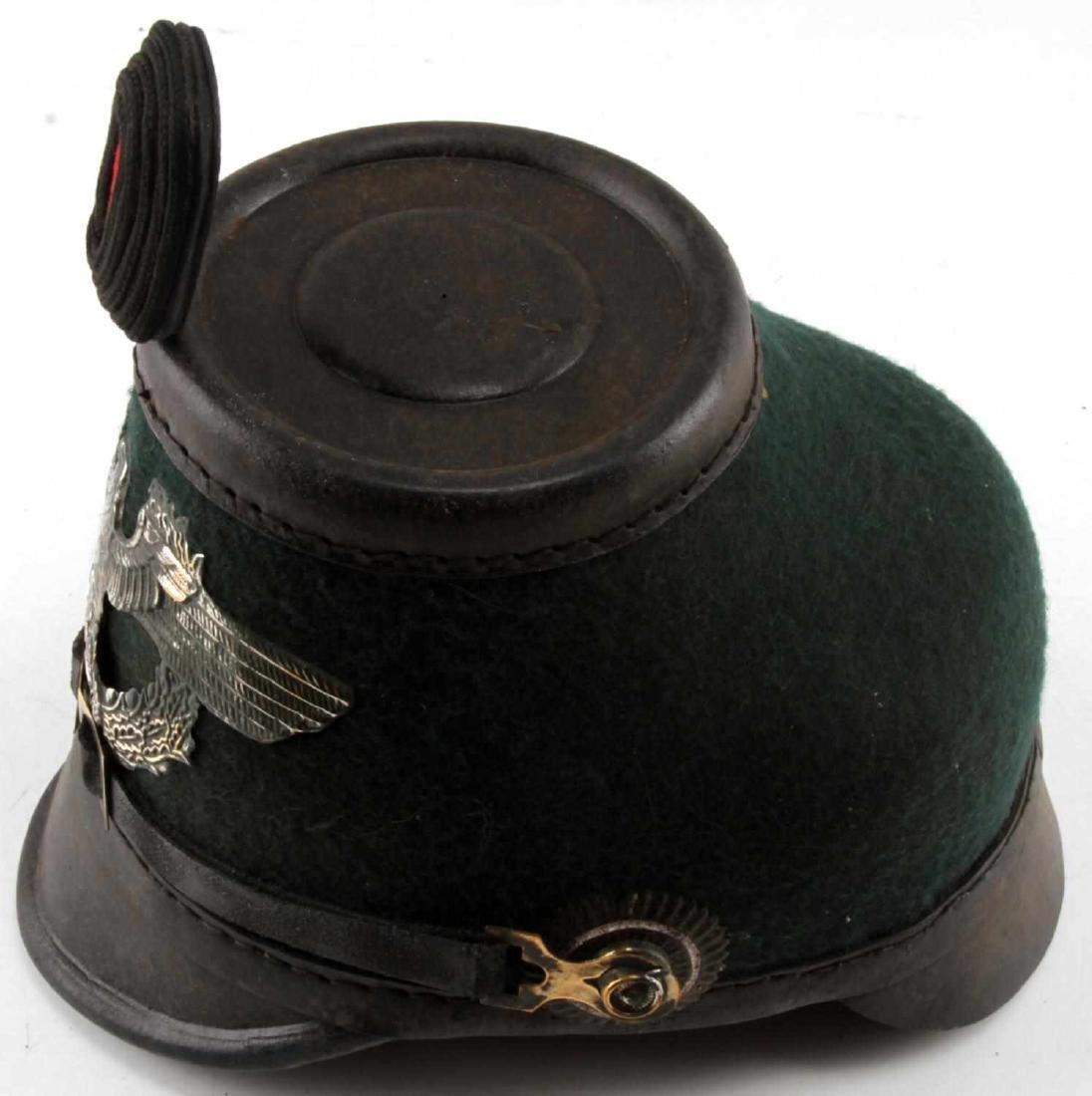 WWII GERMAN THIRD REICH 1936 POLICE SHAKO HAT - 2