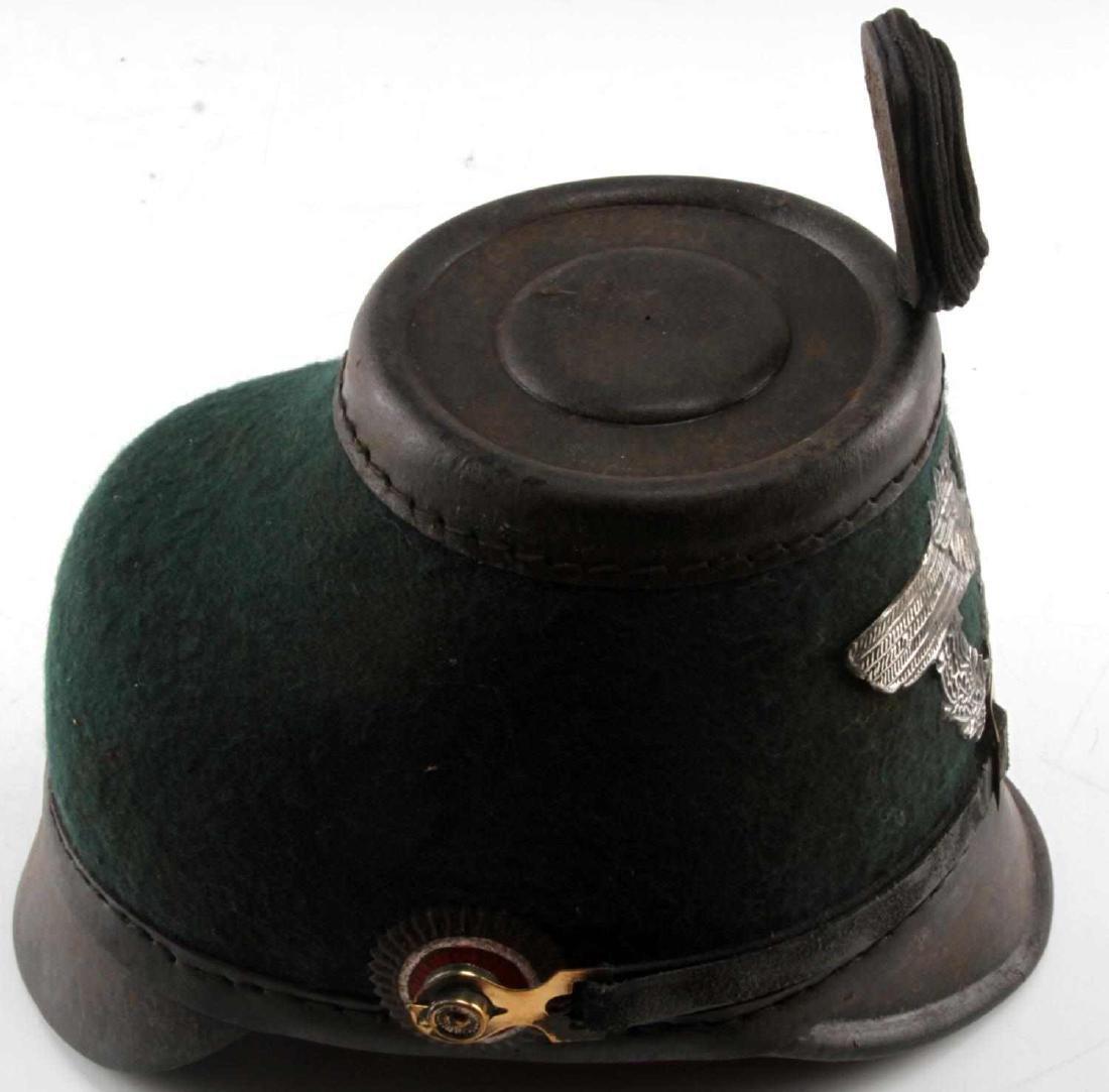 WWII GERMAN THIRD REICH 1936 POLICE SHAKO HAT - 3